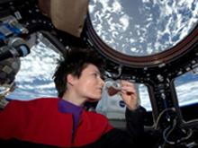AstroSam dovrà riabituarsi alla gravità e … all'Italia